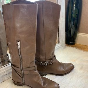 Coach Mysie calf leather boots